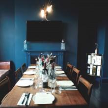 lounge – tasting set up
